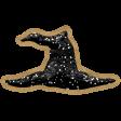 The Good Life - October 2020 Samhain Mini Kit - glitter witch hat