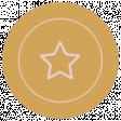The Good Life - October 2020 Samhain Mini Kit - label star