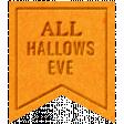The Good Life - October 2020 Samhain Mini Kit - letterpress all hallows eve