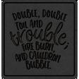 The Good Life - October 2020 Samhain Mini Kit - letterpress double double