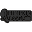 The Good Life - October 2020 Samhain Mini Kit - letterpress pumpkin queen