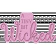 The Good Life - October 2020 Samhain Mini Kit - letterpress wicked