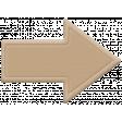 The Good Life: November 2020 Elements Kit - rubber arrow tan