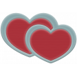The Good Life: November 2020 Elements Kit - Rubber heart red