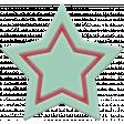 The Good Life: November 2020 Elements Kit - Rubber star mint