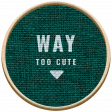 The Good Life: November 2020 Elements Kit - label way to cute