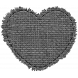 Templates Grab Bag #34 - Small Burlap Mat Heart Template
