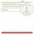 The Good Life: December 2020 Christmas Pocket Cards Kit - Journal Card 5 4x4
