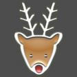 The Good Life: December 2020 Christmas Elements - Enamel Reindeer