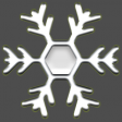 The Good Life: December 2020 Christmas Elements - Enamel Snowflake