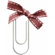 The Good Life: December 2020 Christmas Elements - Paperclip With Bow