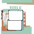Layout Templates Kit #66 - Template 66B