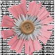 The Good Life: December 2020 Pink Christmas Elements Kit - Flower 02