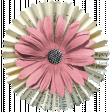 The Good Life: December 2020 Pink Christmas Elements Kit - Flower 03