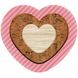 The Good Life: December 2020 Pink Christmas Elements Kit - Heart 01