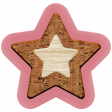 The Good Life: December 2020 Pink Christmas Elements Kit - Star 04