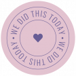 The Good Life: January 2021 Labels & Stickers Kit - We Did This Today
