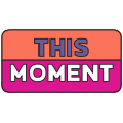 The Good Life: January 2021 Labels & Stickers Kit - This Moment Sticker