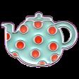 The Good Life 21 Jan Enamel Teapot