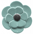 The Good Life: January 2021 - Elements Kit - Flower 4 Teal
