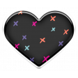 The Good Life: January 2021 - Elements Kit - Puffy Heart Black