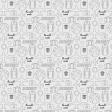 World Traveler #2 Black & White Papers Kit - Paper 12b