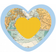 World Traveler #2 Tags & Stickers Kit - Print Heart 2