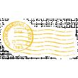World Traveler #2 Tags & Stickers Kit - Vintage Stamp