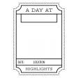 World Traveler #2 Black & White Pocket Cards Kit - Card 05 3x4