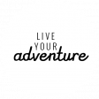 World Traveler Bundle #2 - Black And White Labels - Label Live Your Adventure