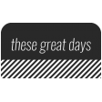 World Traveler Bundle #2 - Black And White Labels - Label These Great Days