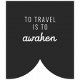 World Traveler Bundle #2 - Black And White Labels - Label To Travel Is To Awaken