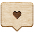 World Traveler Bundle #2 - Neutral Elements - Neutral Label Heart Tag