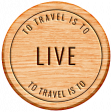 World Traveler Bundle #2 - Neutral Elements - Neutral Label Travel Is To Live
