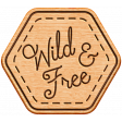 World Traveler Bundle #2 - Neutral Elements - Neutral Wood Wild And Free Badge