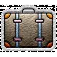 World Traveler Bundle #2 - Elements - Label Leather Suitcase