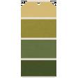 The Good Life: February 2021 Mini Kit - tag 5 green