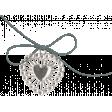 The Good Life: February 2021 Elements Kit - Heart Charm 1