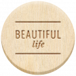 The Good Life: February 2021 Elements Kit - Word - Beautiful Life