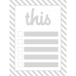 Pocket Card Templates Kit #6 3x4 - journal card template 6b 3x4
