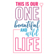 The Good Life: March 2021 Labels & Stickers - Label One Beautiful Wild Life 2