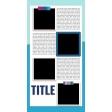 Traveler's Notebook Layout Templates Kit #21 - Template 21C