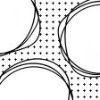 Pocket Cards Template #7_Doodle Circle-4x4