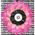 Summer Lovin_Flower-pink white black