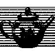 The Good Life: April Collage Kit - Stamp Tea Pot