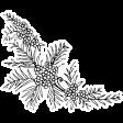 The Good Life: April Collage Kit - Sticker Flower 2