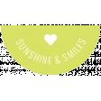 Summer Lovin_Label Half Circle-Sunshine & Smiles