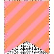 Summer Lovin_Banner-stripe pink orange Print