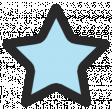 Summer Lovin_Print Star-blue lt