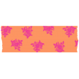 Summer Lovin_Washi tape-flowers-orange pink